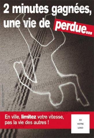Préférence Lutte contre la vitesse en ville : Campagne Publique KW27